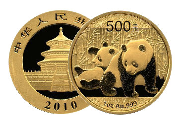 Panda Goldmuenze