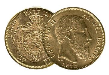 Gold Francs Belgien