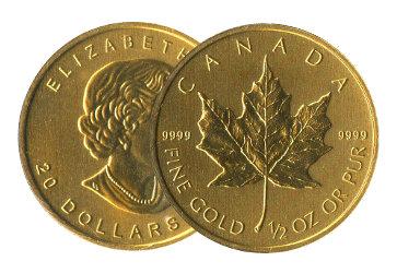 Gold Maple Leaf
