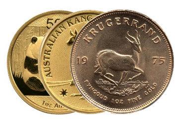 Kategorie Moderne Goldmünzen